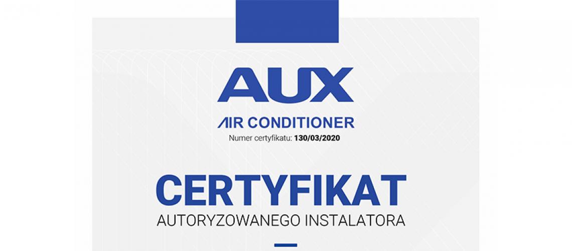 certyfikat aux3
